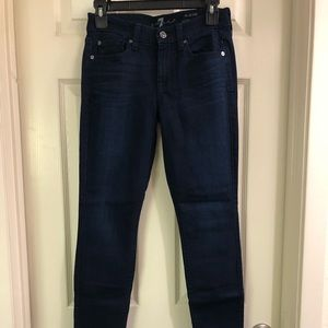 7 For All Mankind Ultra Soft Skinny Jeans